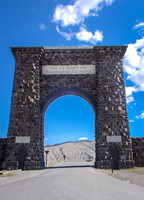 Yellowstone North Entrance, Gardiner, Montana